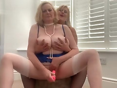 Annabel and Catherine, 2 busty blondes