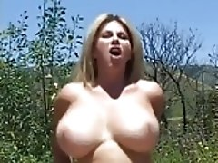 Huge titted milf fucking like a pig