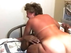 Big BootyGrandmaCreams All Over BBC She Met Online