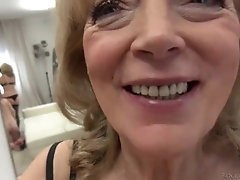 euro teen and gilf anal pov