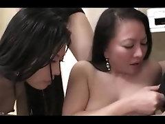 Japanese Mother Daughter Chiharu and Yui Yabuki (Uncensored)