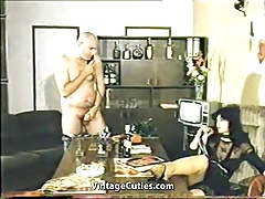 Hard Sex Using Only Telephone (1970s Vintage)