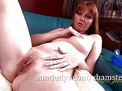 Marie McCray Works Her Pussy Over with a Vibrator